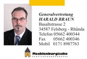 Gernalvertretung Harald Braun